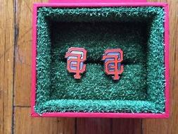 Officially Licensed San Francisco Giants Cuff Links