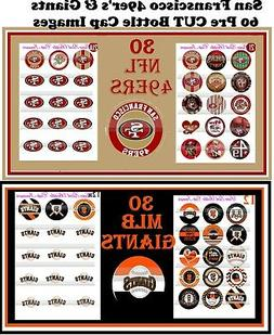 San Francisco Fan Pack 30 MLB Giants-30 NFL 49'ers 60 Precut