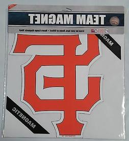 "San Francisco Giants 12"" Car/Truck Auto Office Team Logo Mag"