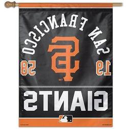 "SAN FRANCISCO GIANTS 1958 27""X37"" BANNER FLAG BRAND NEW WINC"