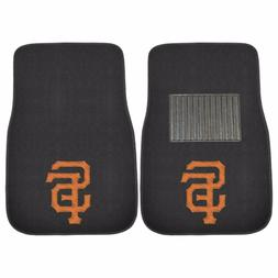 San Francisco Giants 2 Piece Embroidered Car Auto Floor Mats