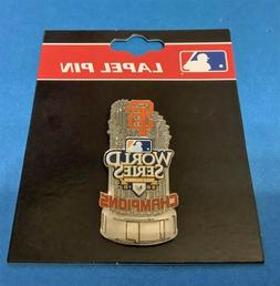 SAN FRANCISCO GIANTS 2010 WORLD SERIES CHAMPIONS TROPHY PIN