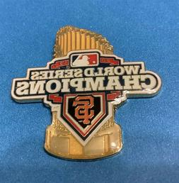 SAN FRANCISCO GIANTS 2012 WORLD SERIES CHAMPIONS TROPHY PIN