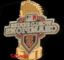 SAN FRANCISCO GIANTS 2012 WORLD SERIES TROPHY PIN