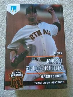 San Francisco Giants 2013 Ryan Vogelsong SGA bobblehead Bobb