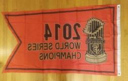 San Francisco Giants 2014 World Series Champions 3x5 Flag -