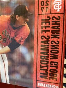 "San Francisco Giants 2017 Jeff ""the Shark"" Samardzija Snow G"
