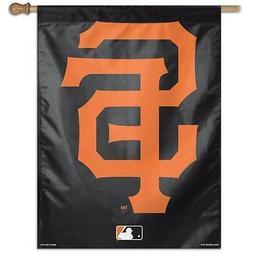 """SAN FRANCISCO GIANTS 2ND DESIGN 27""""X37"""" BANNER FLAG BRAND NE"""