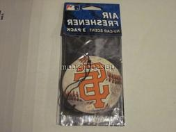 San Francisco Giants 3 Pack Air Freshener