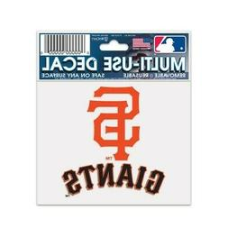 "SAN FRANCISCO GIANTS 3""X4"" MULTI-USE DECAL PERFECT FOR CAR W"