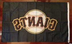 San Francisco Giants 3x5 Flag. US seller. Free shipping with