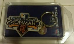 San Francisco Giants Acrylic Key Ring NL Champ 2010