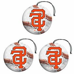 San Francisco Giants Baseball Air Freshener Vanilla Scent 3
