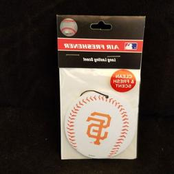 SAN FRANCISCO GIANTS BASEBALL STYLE AIR FRESHENER new