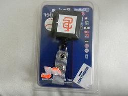 San Francisco Giants Baseball Team Logo- Badge Holder- NEW