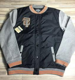 Red Jacket San Francisco Giants Button Down Coat Men's Siz