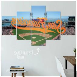 San Francisco Giants Canvas Artwork