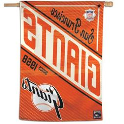 """SAN FRANCISCO GIANTS COOPERSTOWN COLLECTION 28""""X40"""" BANNER F"""