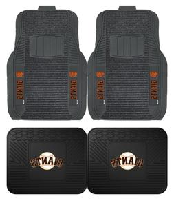 San Francisco Giants Deluxe Auto Floor Mats - Car, Truck, SU