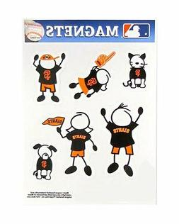 San Francisco Giants Family Magnet Set  Auto Car Stickers Em