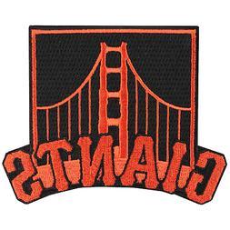 San Francisco Giants Golden Gate Bridge Logo Sleeve Jersey P