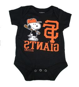 San Francisco Giants Infant Creeper Snoopy Peanuts Baby Romp