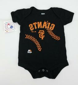 San Francisco Giants Infant Toddler 18M Majestic One Piece R