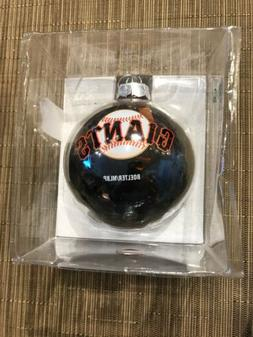 San Francisco Giants Large Tinsel Ball Ornament