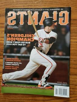 San Francisco Giants Magazine Back Issues