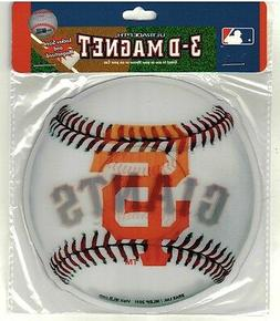 San Francisco Giants Magnet Brand New & Sealed Ultradepth 3-