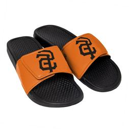 San Francisco Giants Men's Cropped Big Logo Flip Flop,Sandal