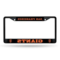 san francisco giants metal license plate frame