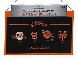 San Francisco SF Baseball Giants MLB LARGE 22x14 Wall Hangin