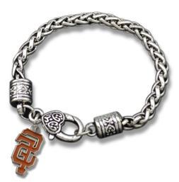 San Francisco Giants MLB Charm Baseball Bracelet Jewelry New