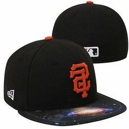 San Francisco Giants MLB NASA Galaxy New Era 5950 Flat Bill