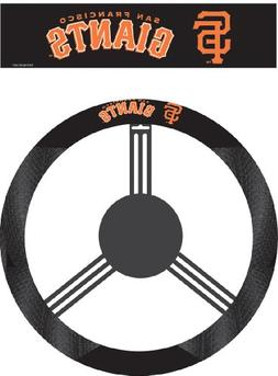 San Francisco Giants Mlb Poly-Suede Steering Wheel Cover
