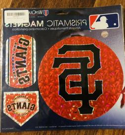San Francisco Giants MLB Prismatic Magnet Sheet Hologram 11x