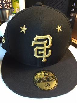 San Francisco Giants New Era MLB Star Gazer Flat Bill Brim B