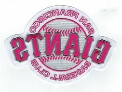 San Francisco Giants Mothers Day Pink Sleeve Jersey Patch