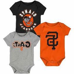 San Francisco Giants Newborn & Infant Everyday Fan Three-Pac