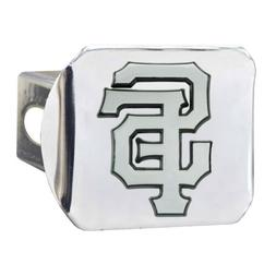 San Francisco Giants Premium Metal Chrome Hitch Cover Bumper
