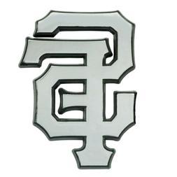 San Francisco Giants Premium Solid Metal Chrome Auto Emblem