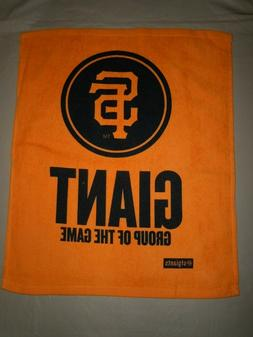 SAN FRANCISCO GIANTS  Rally Towel  Orange NEW
