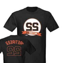 San Francisco Giants Retire Will Clark #22 Jersey Shirt Mens