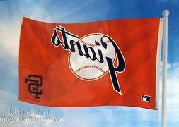 San Francisco Giants RETRO Logo 3x5 Flag w/grommets Outdoor