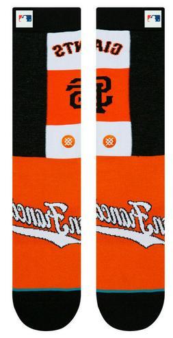 San Francisco Giants SF Stance MLB Pop Fly Collection Socks
