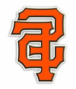 "San Francisco Giants "" SF""  Decal / Sticker Die cut"