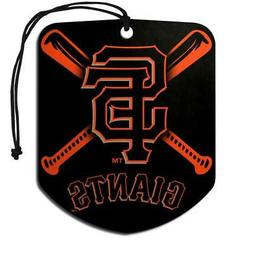 San Francisco Giants Shield Design Air Freshener 2 Pack  MLB
