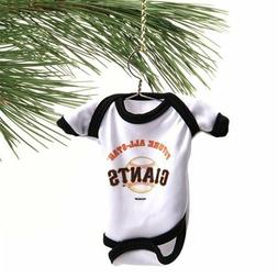 San Francisco Giants Baby Shirt Ornament