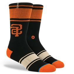 San Francisco Giants Stance Socks MLB Baseball New Black Ora